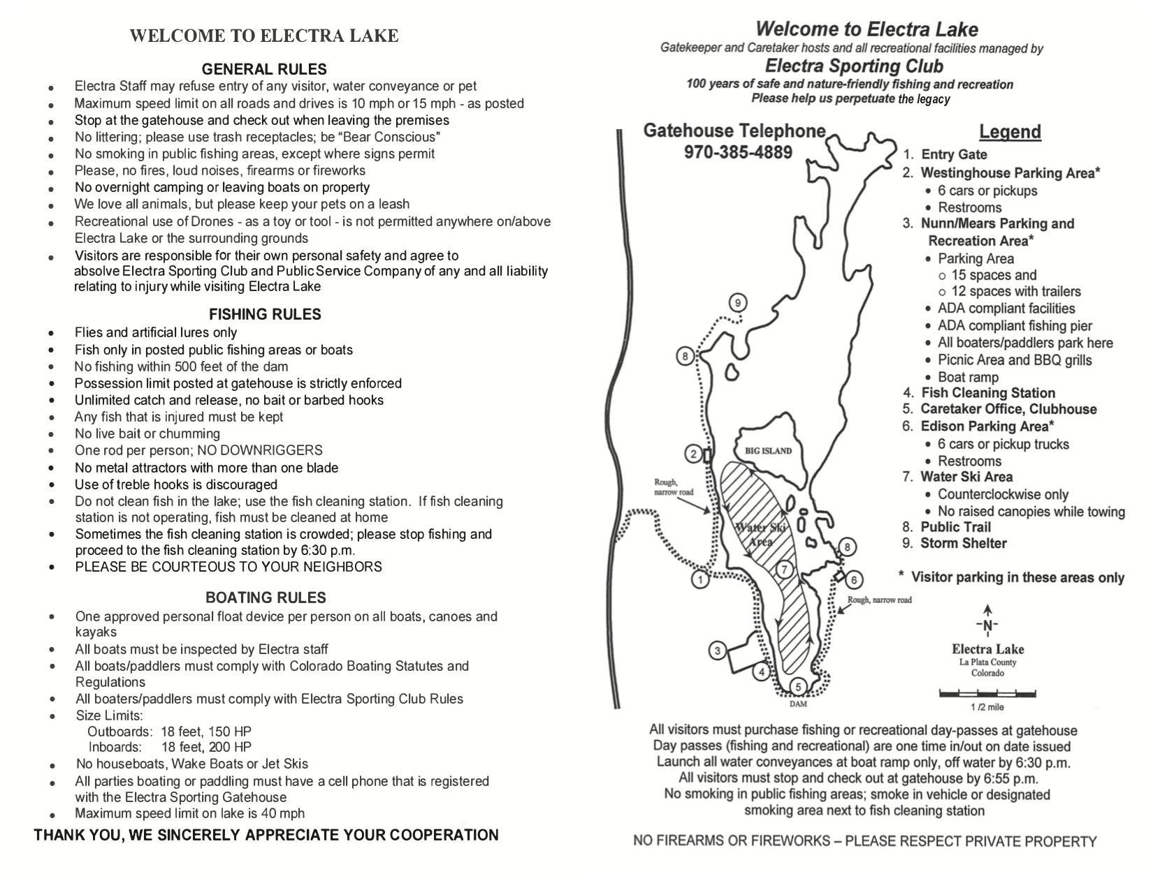 Boating, Fishing & Recreation - Electra Lake, Durango, Colorado